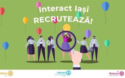 Interact Iași Recrutează!